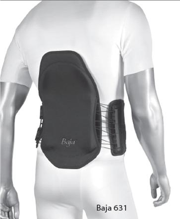 Vector Back Brace Adjustable Support for Lumbago and Spasms by BioSkin Premium Lower Back Brace for Lumbar Support Lower Back Pain